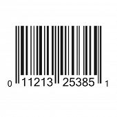 Bar code vector illustration isolated