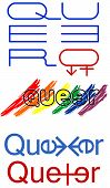 foto of queer  - Queer sign simbols gender illustration art vector - JPG