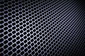 foto of metal grate  - closeup of seamless  metallic grid - JPG