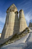 stock photo of goreme  - Rocks in Cappadocia  - JPG