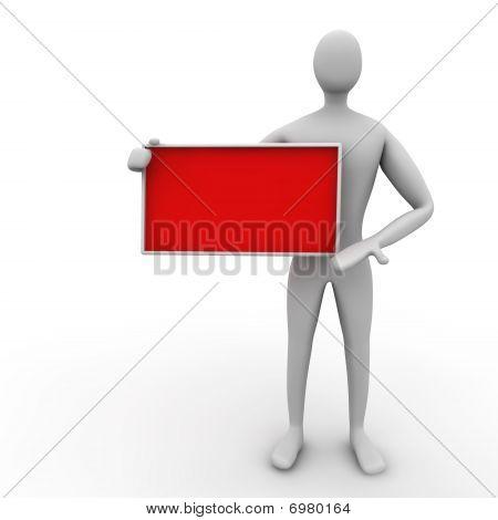 Red Empty Board