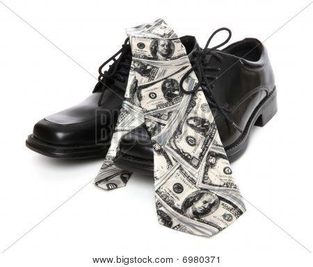 Business Man Money Theme