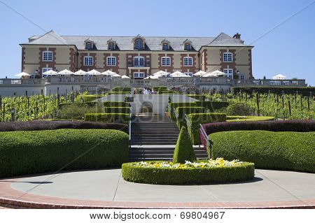 Domaine Carneros Winery in Napa Valley