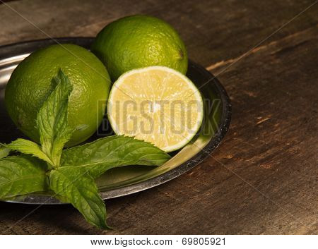 Lemon And Mint.