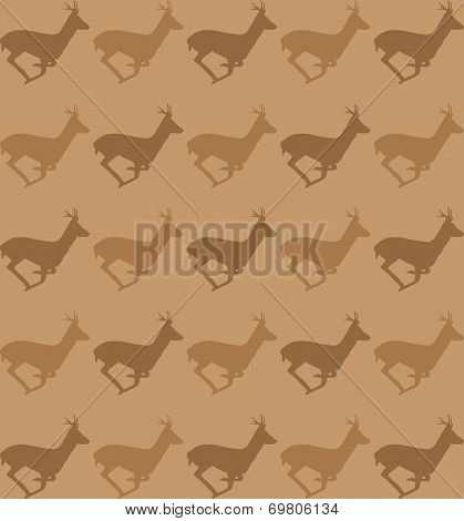 Running deer pattern