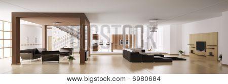 Apartment Panorama 3D