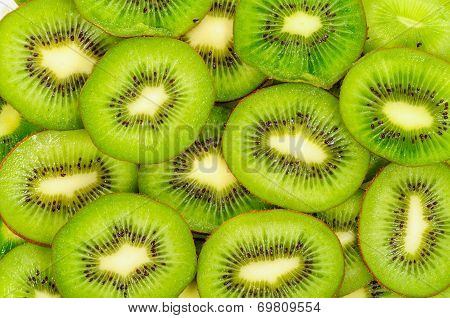 Kiwi,slices of Kiwi