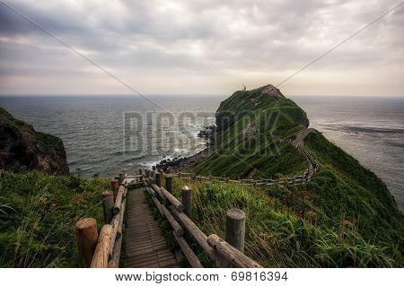 Trail towards Cape Kamui