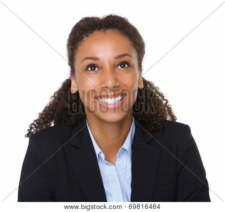 Trustworthy Business Woman Smiling