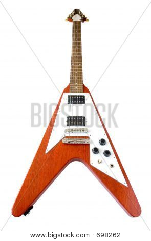 "Classical ""Flying V"" Guitar"