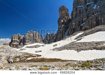 Dolomiti - Landscape In Sella Mount