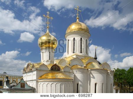 Travels. Russia. Seriev Posad. Laurels
