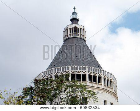 Nazareth Basilica Top Of Dome 2010
