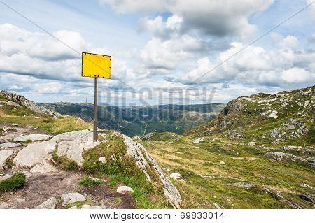 Mountain Sign