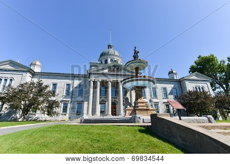 Frontenac County Court House In Kingston, Ontario, Canada