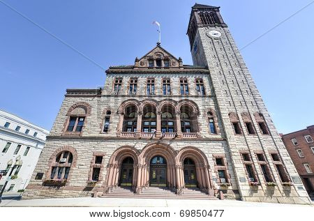 Albany City Hall In New York State