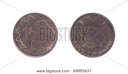 Old One Dollar Coin