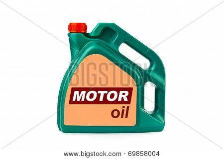 Plastic Canister For Motor Oil