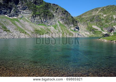 Kidney Lake And Rila Mountains