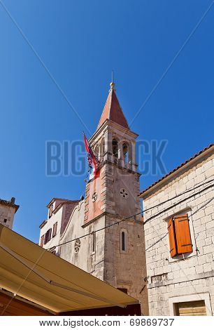 Belfry Of St Peter Church (xvi C.). Trogir, Croatia