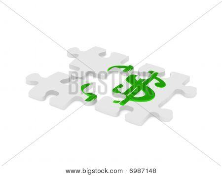 Dollar-puzzle
