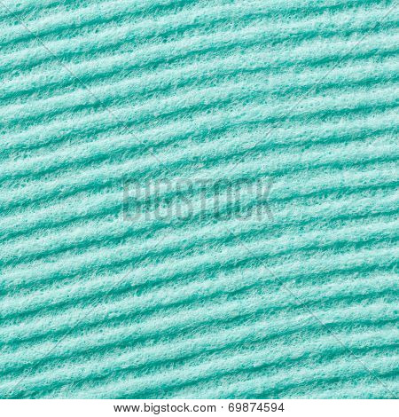 Green Color Sponge Texture