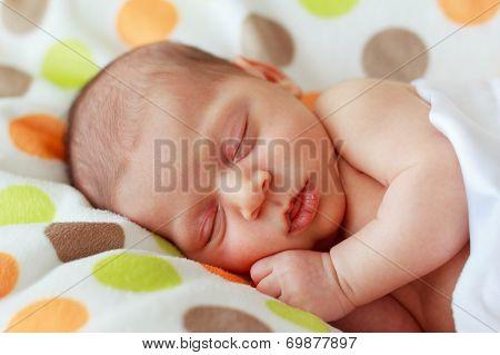 Clope Up Happy Baby  New Born Sleeping