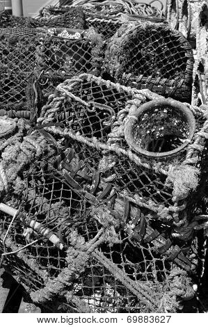 Lobster Pots in Conwy