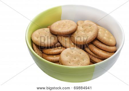 bowl with cookies