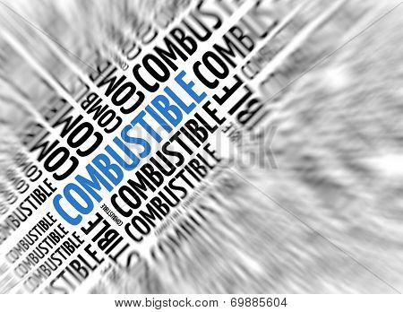 Marketing background - Combustible - blur and focus