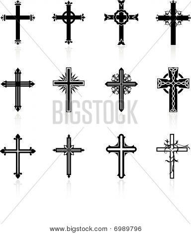 Cruz diseño colección religiosa