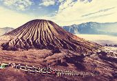 picture of bromo  - Bromo Volcano at  Java - JPG