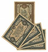 image of debenture  - old vintage ten twenty five  - JPG