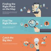 picture of gps  - Concepts for Finding the right place on the map for travel and tourism - JPG