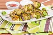 picture of kababs  - Lime - JPG