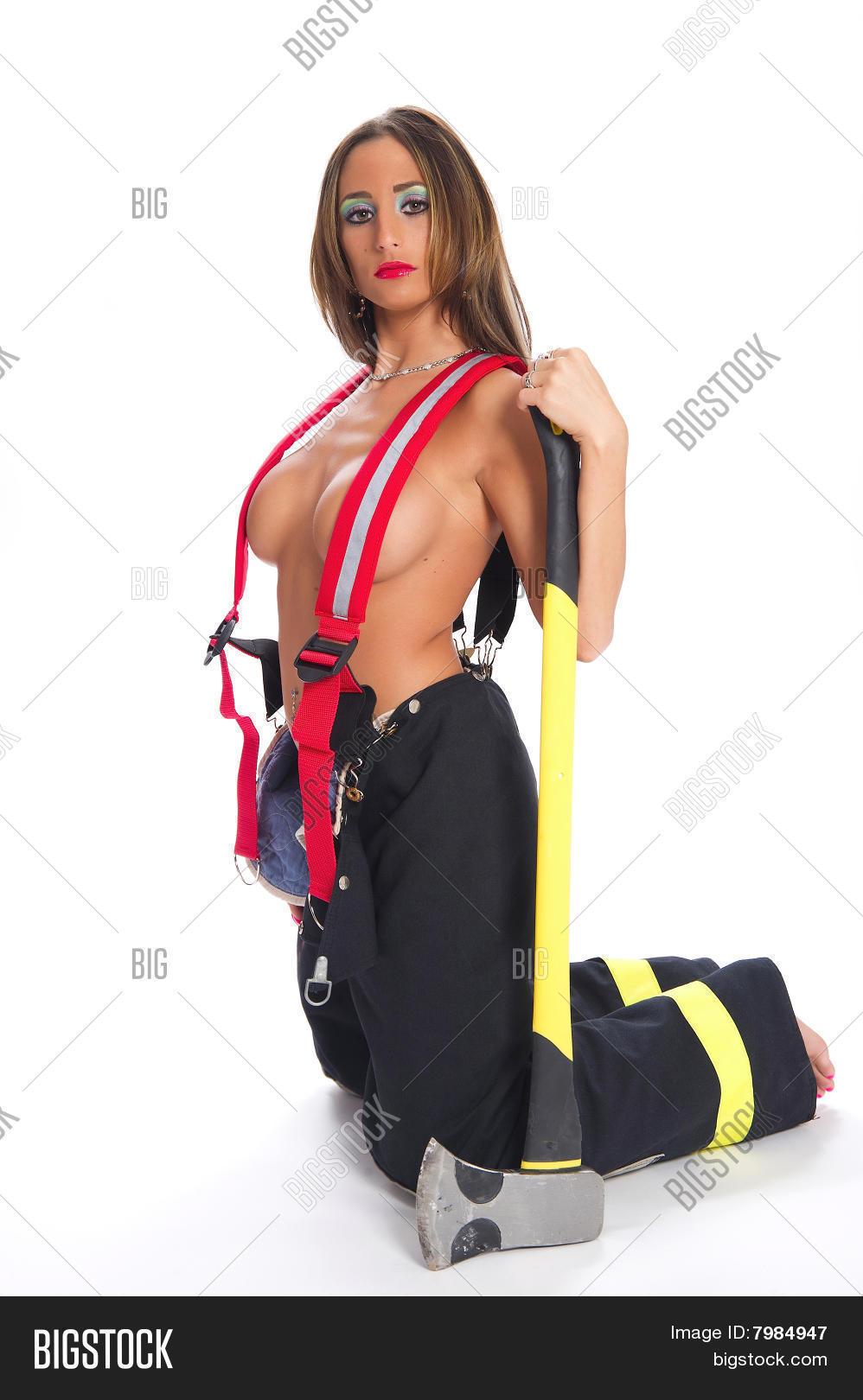голые девушки пожарные