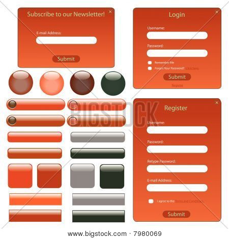 Web Template Rusty