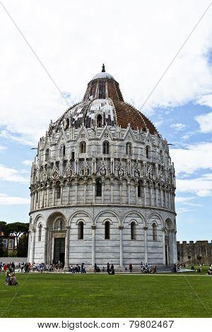 Pisa Baptistry Of St John