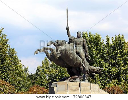 Monument To General Andranik Ozanyan In Yerevan