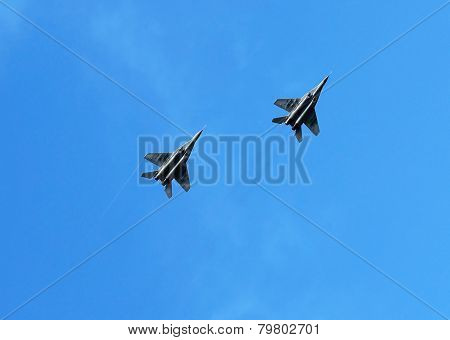 Fighters In Flight