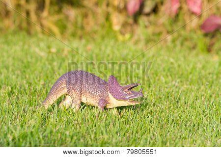 Triceratops dinosaur plastic toy