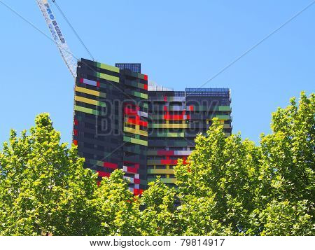 Colorful Residential Building