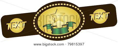 Symbolic Championship Belt