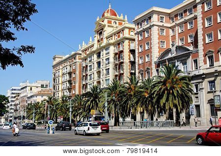 Unicaja bank, Malaga.