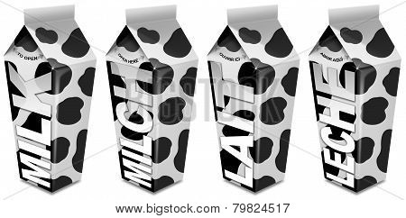 Milk Packaging - Emballages De Lait - Milch-verpackung - Envasado De Leche