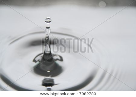 Water Droplet Ripple