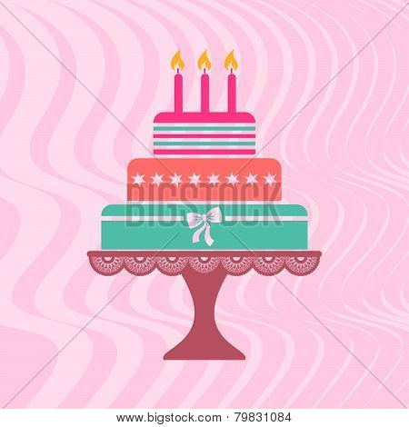 Beautiful-vintage-happy-birthday-card-with-colorful-cake.eps