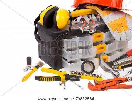 Plastic workbox