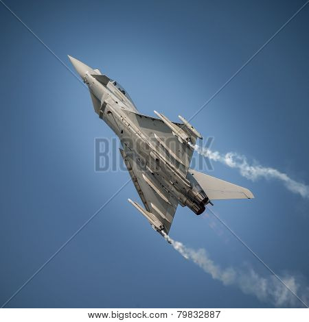 Jet Fighter In Flight