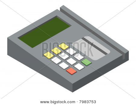 Credit card reader device